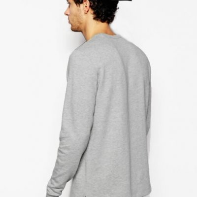 Grey Sweatshirt Mens Sharkers®