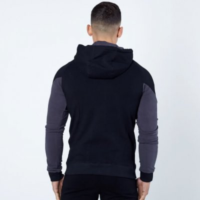 Black and Grey Hoodie Mens Sharkers®