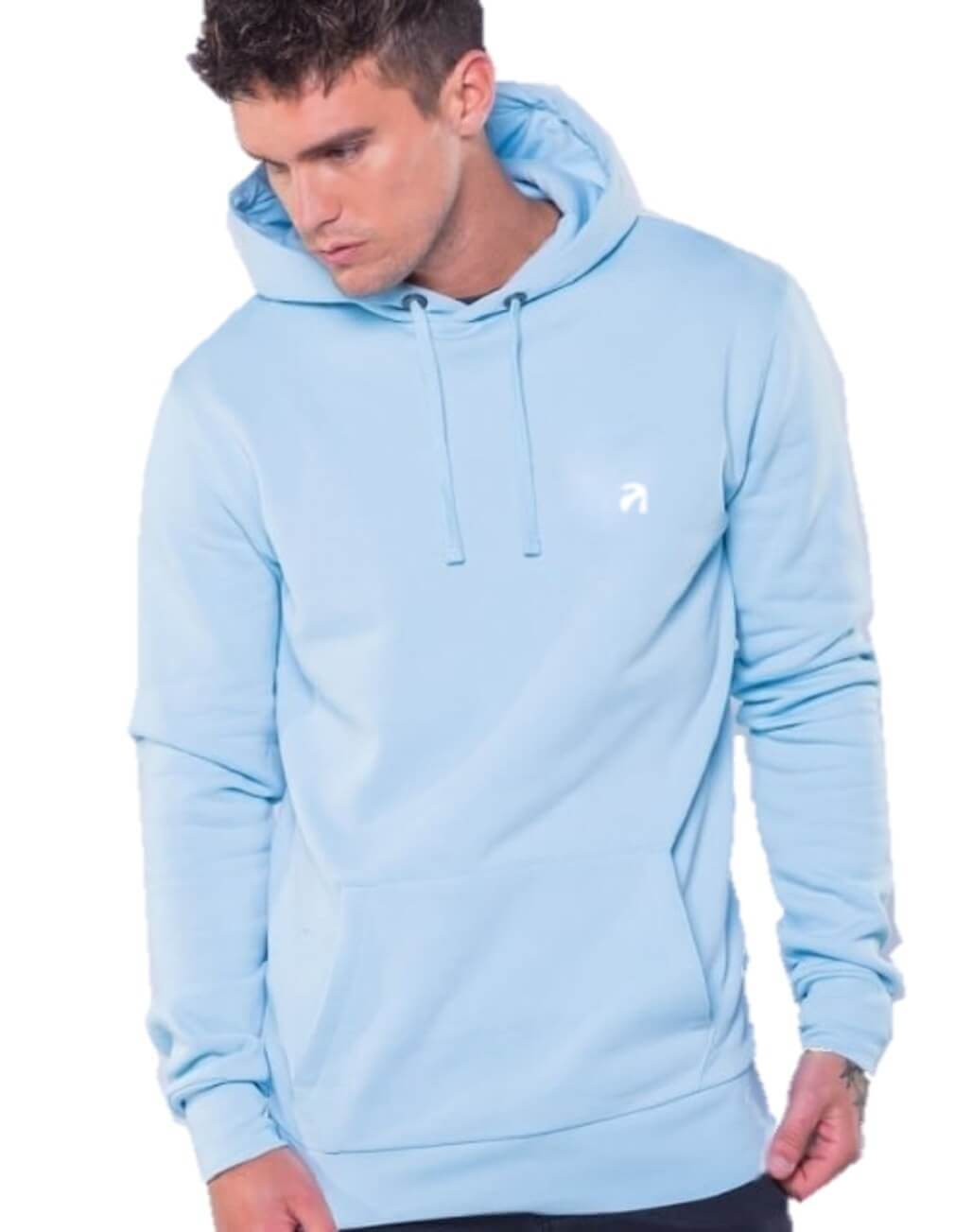 2ecf0e25216 Light Blue Hoodie Man Limited Edition | Sharkers® Hoodies